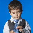 Cute little boy portrait — Stock Photo #41920019