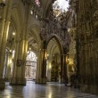 Interior of the Cathedral Toledo — Stock Photo
