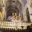 Interior of the Cathedral Toledo — Stock Photo #42225609