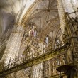 Interior of the Cathedral Toledo — Stock Photo #42226493