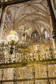 Interior of the Cathedral Toledo — 图库照片