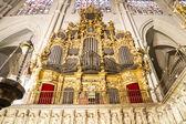 Interior de la catedral toledo — Foto de Stock