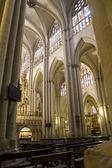 Innenraum der Kathedrale Toledo — Stockfoto