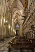 Interior of the Cathedral Toledo — Foto de Stock