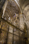 Interior da Catedral toledo — Fotografia Stock