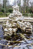 Fountains of the Palace of Aranjuez — 图库照片