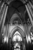 Katedral iç — Stok fotoğraf