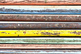 Multi colored wooden texture — Stock Photo