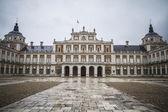 Majestic palace of Aranjuez in Madrid, Spain — Stock Photo