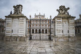 Majestic palace of Aranjuez in Madrid — Stock Photo