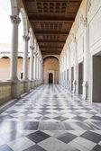 Indoor palace, Alcazar de Toledo, Spain — Stock Photo
