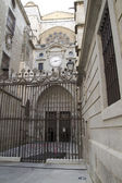 Side entrance of the Cathedral of Toledo — Stock Photo