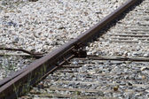 Train rails — Stock Photo