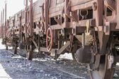 Old freight train — Stock Photo