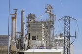 Moderne industrie en raffinaderij — Stockfoto