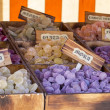 Box candy and sweets shop — Stock Photo