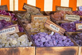 Box candy and sweets shop — Stock fotografie