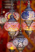Oriental style lamps — Stock Photo