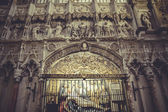 Cathedral interior, gothic style, spanish church — Foto de Stock