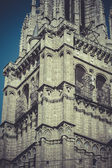 Tower toledo cathedral, spain — Stock Photo