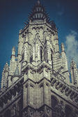 Věž katedrála v Toledu, Španělsko — Stock fotografie