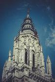 Catedral de torre toledo, Espanha — Fotografia Stock