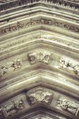 Gothic style cathedral — Stock Photo