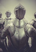 Military medieval iron armor — Stock Photo