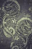Tattoo art illustration — Stock Photo