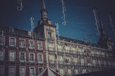 Plaza Mayor, Image of the city of Madrid — Stok fotoğraf