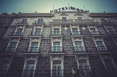 Image of the city of Madrid — Stock Photo