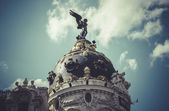 Metropolis, Image of the city of Madrid — Stock Photo