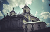 Church, Image of the city of Madrid — Stock Photo