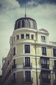 Gran via, Image of the city of Madrid — Stock Photo