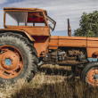 Old agricultural tractor — Stock Photo #48956279