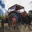 Old agricultural tractor — Stock Photo #48956303