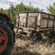 Old agricultural tractor — Stock Photo #48956343