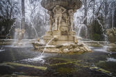 Ornamental fountains of the Palace of Aranjuez — 图库照片