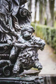 Mythological bronze sculpture. — Stock Photo