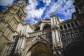 Majestueuse cathédrale de tolède — Photo