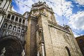 Majestic Cathedral of Toledo — Stock Photo