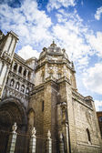 Majestic Cathedral of Toledo — Stock Photo