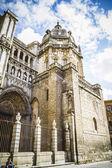 Maestosa Cattedrale di toledo — Foto Stock