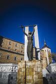 толедо, известного города в испании — Стоковое фото