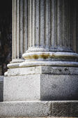 Grieks-stijl kolommen — Stockfoto