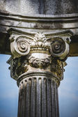 Greek-style columns — Stock Photo