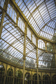 Crystal Palace in the Retiro Park — Stock Photo
