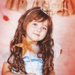 Princess with magic wand — Stock Photo