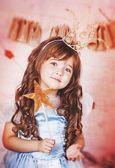 принцесса с волшебной палочкой — Стоковое фото