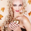 Queen of autumn - Stock Photo